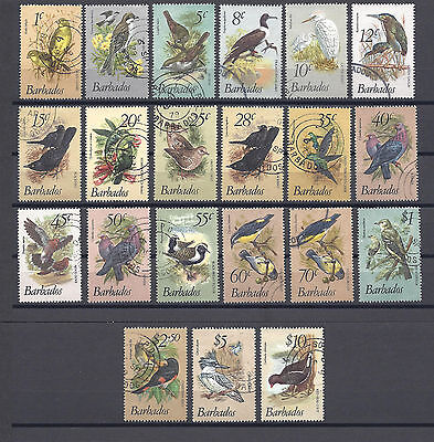 BARBADOS 1979-83 SG 622/38 USED Cat £60