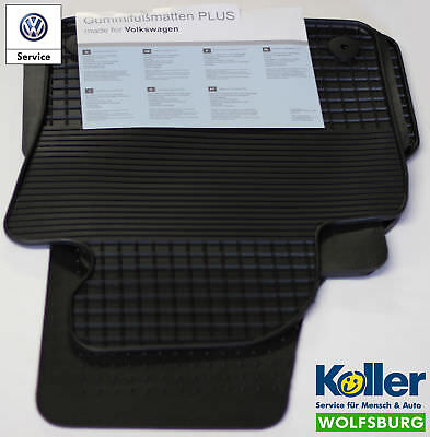 3C1061500A 82V Original Volkswagen Passat Gummifußmatten-Set vorne und hinten