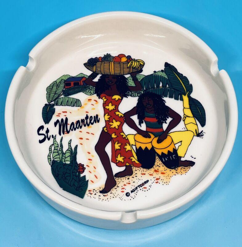 St. Maarten Souvenir Ceramic Ashtray AGIFTCORP