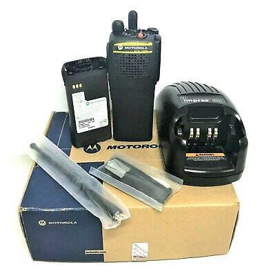 New Motorola Astro Xts1500 7800 Mhz Digital 3w 48ch H66ucc9pw5bn W Accessories