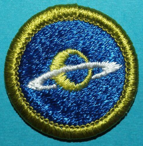 ASTRONOMY TYPE H MERIT BADGE - PLASTIC BACK  -    BOY SCOUTS - X592