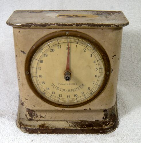 Vintage Metal Scale by Justa Arista West Germany 22lbs