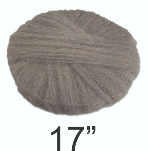 "GMT Radial Steel Wool Pads Grade 0 (fine): Cleaning & Polishing 17"", 12/CT"
