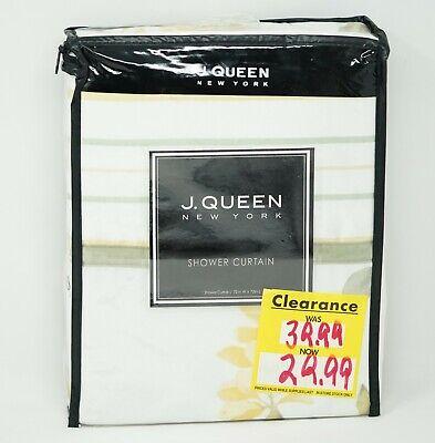 J. Queen New York™ Citron 72-Inch Shower Curtain