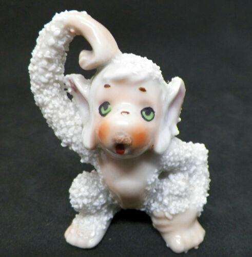 Vintage Japan Sugared/Textured Monkey Figurine