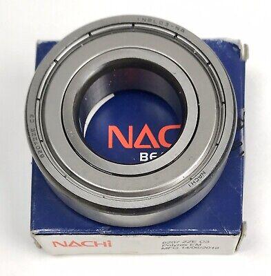 6207zze C3 Nachi Bearing Shielded 35x72x17mm Ball Bearing 6207 Zz Double Shielde