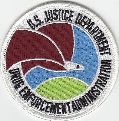 US JUSTICE DEPARTMENT DRUG ENFORCEMENT ADMINISTRATION DEA POLICE PATCH DC WASH