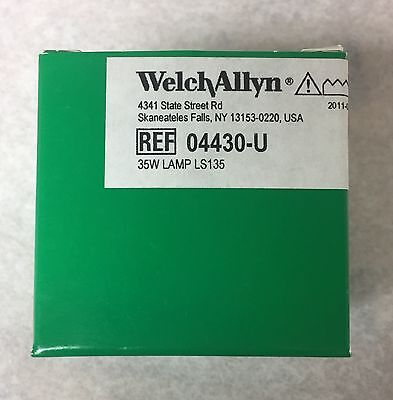 Welch Allyn Brand 04430-u Replacement Bulb For Ls135ls150 Lamp