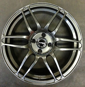 15-Gun-Metal-Finish-Wheels-185-60-15-Tyres-Suzuki-Swift-Honda-Jazz