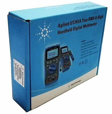 New Agilent U1241a True Rms 4-digit Handheld Digital Multimeter