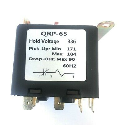 Universal Potential Relay 336 Voltage171-184 Pick Up90 Drop Out 60hz.