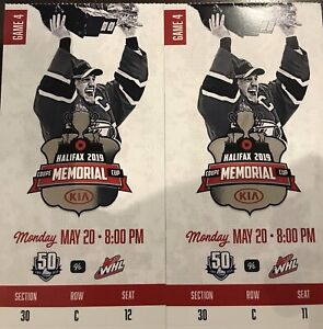 Memorial Cup Tickets hosted by Mooseheads.
