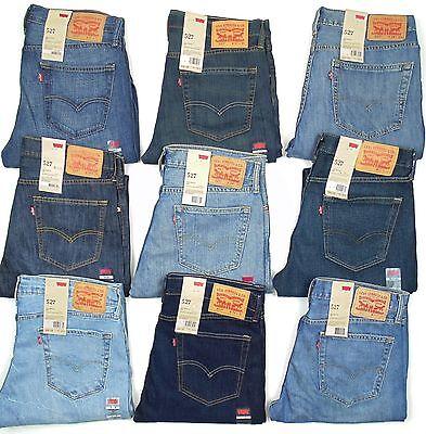对于出售 Levis 527 Mens Jeans Slim Fit Boot Cut Many Sizes Many Colors New With Tags