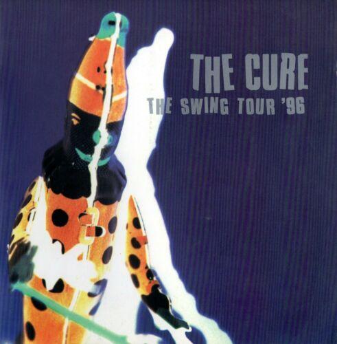 "THE CURE 1996 ""THE SWING"" TOUR CONCERT PROGRAM BOOK~ROBERT SMITH-VG 2 NEAR  MINT"
