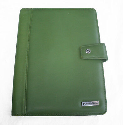 Franklin Covey Planner Wirebound Cover Green Classic
