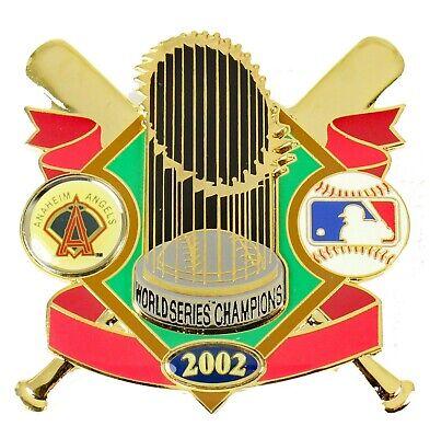 Anaheim Angels 2002 World Series Champs Oversized Trophy Pin - LTD. (Angels 2002 World Series)
