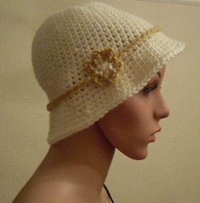 Free 1920's Flapper Hat Crochet Pattern