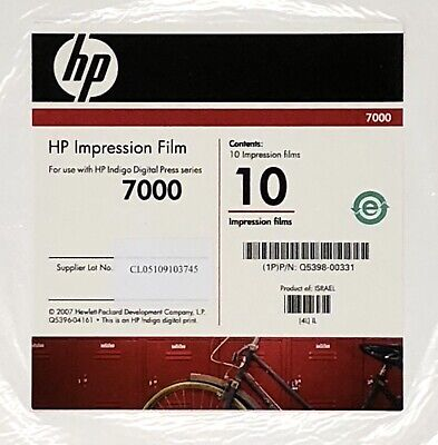 Hp Indigo Impression Film For Press Series 7000 28 Sheets