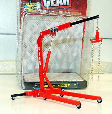 reparatur Motorkran Engine Hoist, 1:24, Hobby Gear  (Hobby Gear)