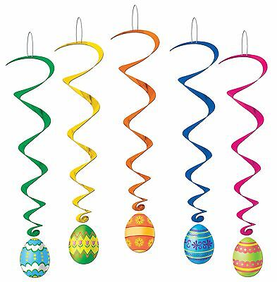 Easter Decorations Indoor Holiday Egg Whirls For The Home Classroom 5 Pk 40050
