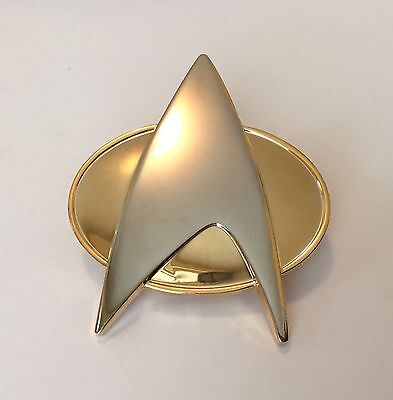 Star Trek The Next Generation Comunicator Pin (Full Size)