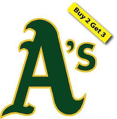 Oakland Atheltics As Baseball Decal Sticker  Mlb Playoff Team  Josh Reddick O1
