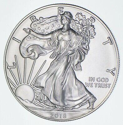 Better Date 2018 American Silver Eagle 1 Troy Oz .999 Fine Silver *509