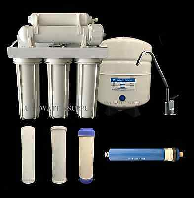 Home Water Filtration - Water Filter System Reverse Osmosis Filtration Drinking Home RO 100 gpd