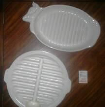 Vintage Ceramic Grill Platters Gidgegannup Swan Area Preview