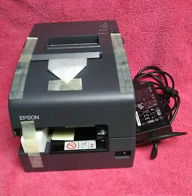 Epson Tm-h6000iv Point Of Sale Thermal Receipt Printer M253a Wpower Supply