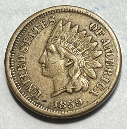 1859 Indian Cent Nice Original VF/XF Best Price on Ebay CHN