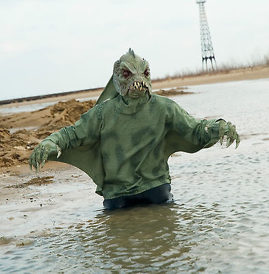 Sea Creature Creature Swamp Shirt Zagone Studios Adult Halloween Costume (Studio C Halloween)