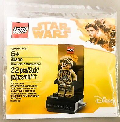 LEGO DISNEY STAR WARS MINIFIGURE HAN SOLO MUDTROOPER POLYBAG 40300