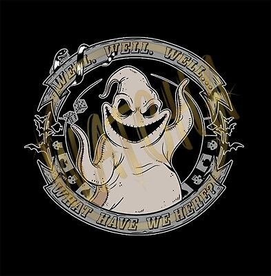 Nightmare Before Christmas Oogie Boogie Image Men's T-Shirts