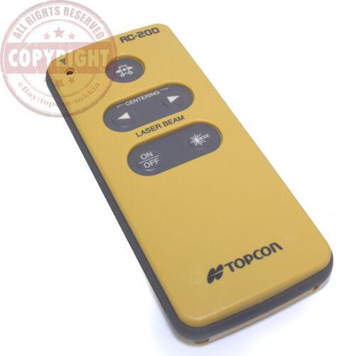 TOPCON RC-200 PIPE LASER REMOTE CONTROL FOR TP-L3,TP-L4,TP-L5,RC200