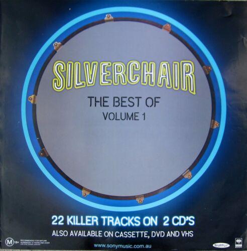 "SILVERCHAIR ""BEST OF VOL. 1"" AUSTRALIA PROMO POSTER - Album Cover Artwork"
