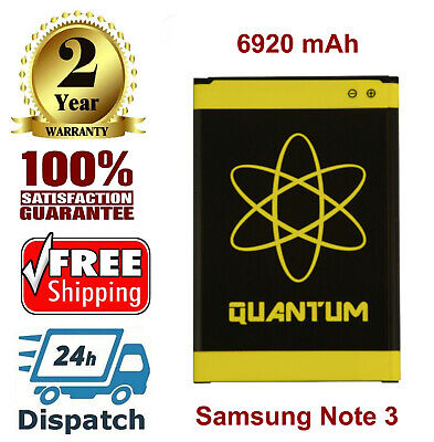 Quantum 6920mAh Extended Slim battery For Samsung GALAXY Note3 N9000 N9002 N9005
