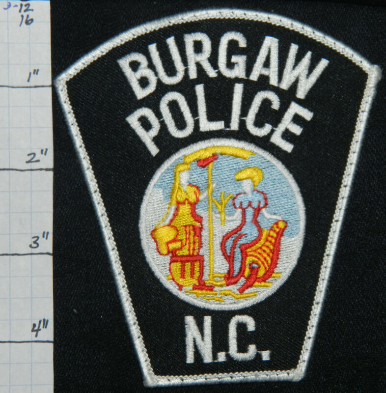 NORTH CAROLINA, BURGAW POLICE DEPT PATCH