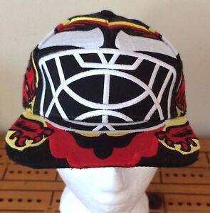 Greg Harrison Goalie Mask Hat - The Scot - New With Tags