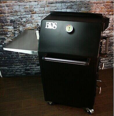 Bbq Smoker Big Daddy Smoker - Rotisserie - Grill - Al In One Made In Usa