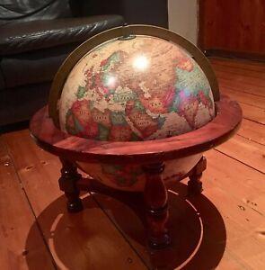 World Globe- Readers Digest World antique spot globe