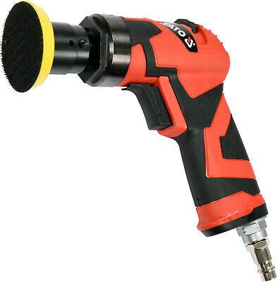 Kfz Mini Druckluft Excenterschleifer Set Spot Repair Schleifer Polierer M6 50mm