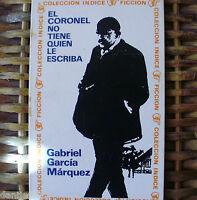 El Coronel No Tiene Quien Le Escriba, Gabriel García Márquez, Sudamericana, 1968 -  - ebay.es