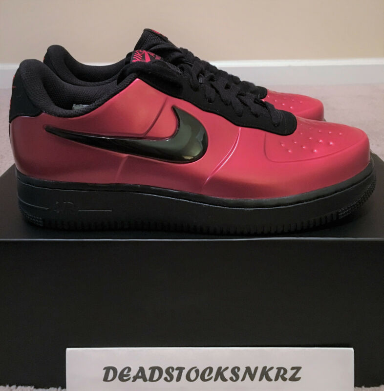 07044186c06 Nike AF1 Air Force 1 Foamposite Pro Cup Gym Red Black AJ3664 601 Men s  Sizes 8