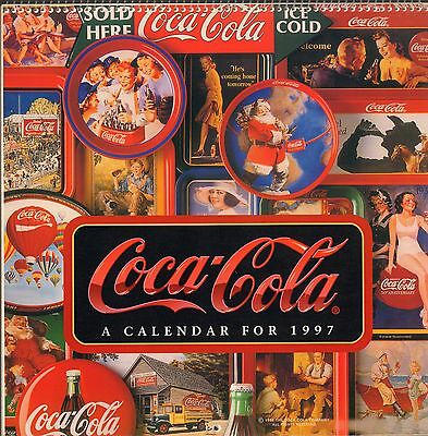 Coca Cola Coke - 1997 Wall Calendar - New !!