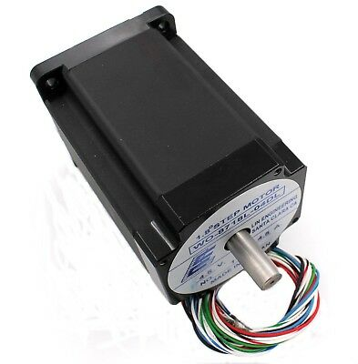 8718l-04dl - Nema34 Dual Shaft 4.5a Stepper Motor