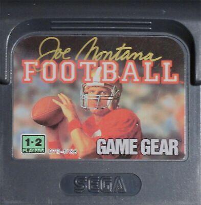 Joe Montana Football Sega Game Gear cartridge VERY Fast Shipping Worldwide!!!