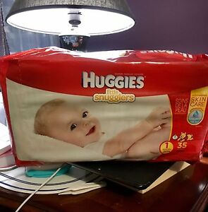 Huggies #1, 35 counts Kitchener / Waterloo Kitchener Area image 1