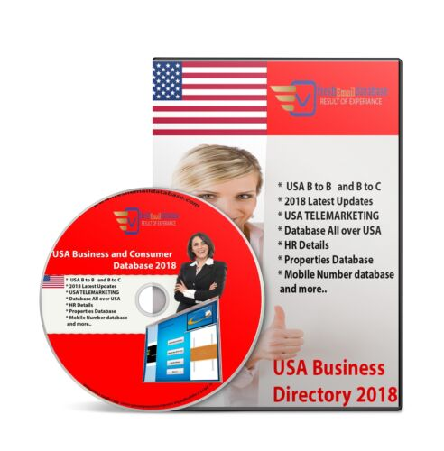 USA BILLION Database Email Marketing List 3 DVD File Email Delivery