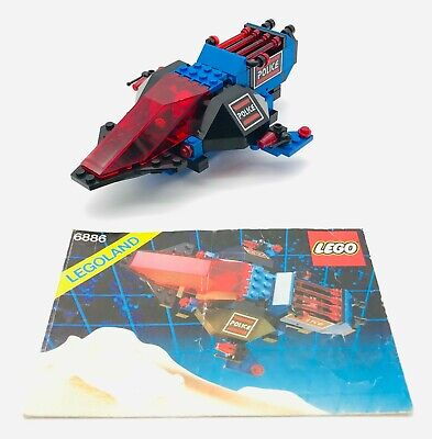 Vintage Lego 6886 Galactic Peacekeeper Space 1989 Complete With Instructions